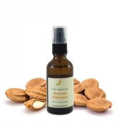 Huile de noyau d'abricot bio 50ml - 100% Huile végétale biologique cosmétique