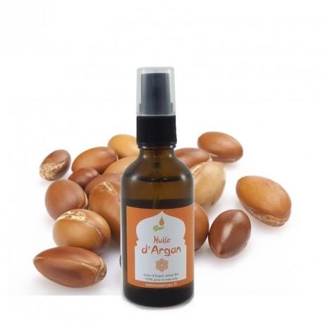 Huile d'Argan bio Bio : qualité cosmétique 100% pure, vierge, naturelle - 50ml