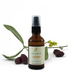 Huile de Jojoba Bio idéale pour le visage et les cheveux. 100% pure et naturelle