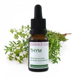 Thym doux - Essence culinaire Bio - Huile essentielle Bio pour la cuisine - Concentré d'arôme 100% naturel