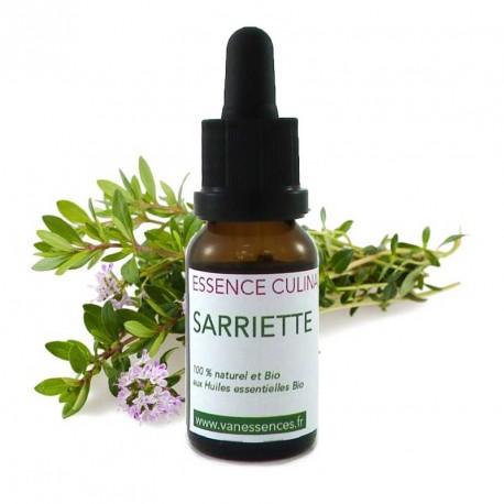 Sarriette des montagnes - Essence culinaire Bio - Huile essentielle Bio pour la cuisine - Concentré d'arôme 100% naturel