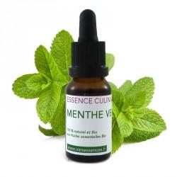 Menthe verte - Essence culinaire Bio - Huile essentielle Bio de cuisine