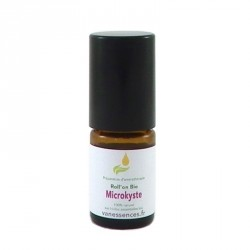Microkyste visage soin aux huiles essentielles bio en roll'on