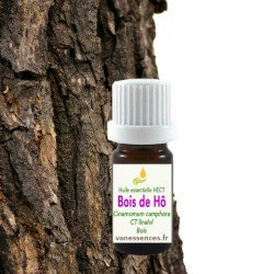 Huile essentielle de Bois de Ho Cinnamomum camphora ct Linalol
