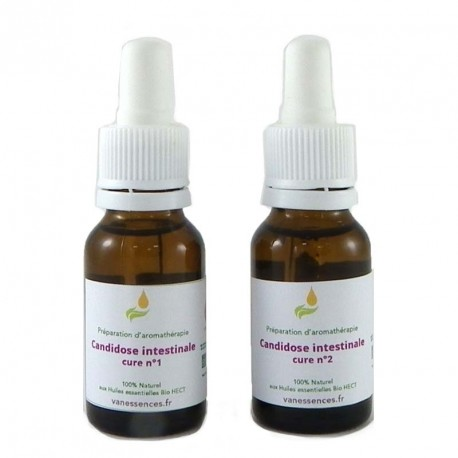 Pour traiter la candidose intestinale 100% bio aux huiles essentielles