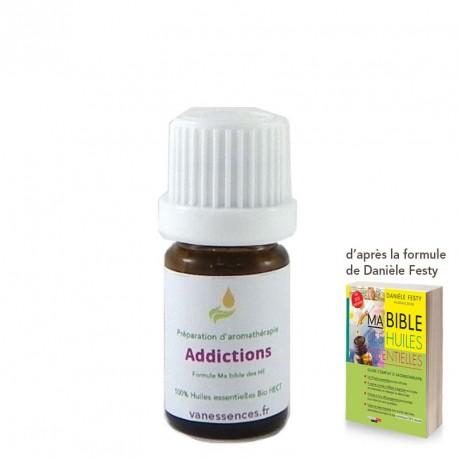 Pour vous aider à lutter contre les addictions (drogue, tabac, alcool).  100% huiles essentielles bio