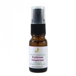 Traitement erythrose pour soigner la couperose - Synergie aux Huiles essentielles Bio et à l'Huile d'Argan