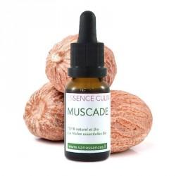 Noix de Muscade Huile essentielle bio alimentaire pour la cuisine