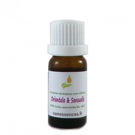 Mélange d'huiles essentielles à diffuser dans la maison - Ambiance Orientale et Sensuelle  - 100% HE BIO