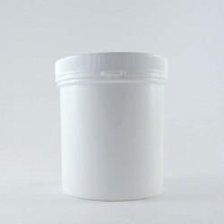 Pot en plastique vide cosmétique 500ml