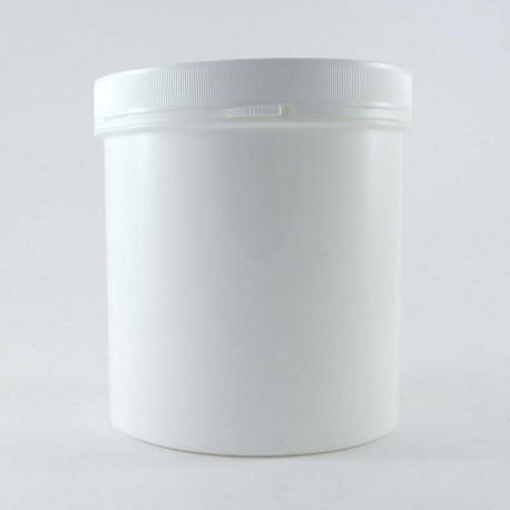 Pot en plastique vide cosmétique 1000ml