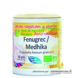 Fenugrec bio Gélules de poudre de graines de Methi Trigonella foenum graecum