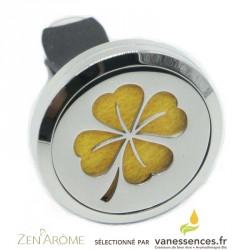 Diffuseur huile essentielle voiture - Clip Arôme Trèfle