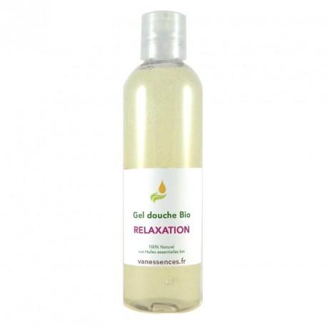 Gel douche BIO Relaxation - 100% naturel aux huiles essentielles
