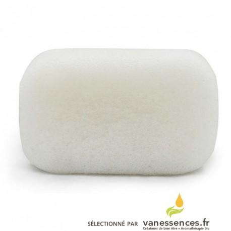 Éponge Konjac corps. 100% naturelle pour nettoyer et exfolier sa peau
