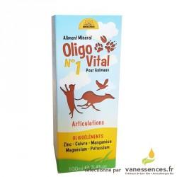 OLIGOVITAL N°1 Articulations - Oligoélements pour chiens et chats