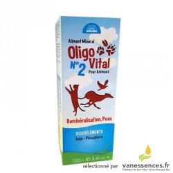 OLIGOVITAL N°2 - Reminéralisation, peau pour chiens et chats