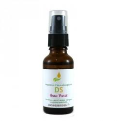 DS Huile visage est un soin spécifique nourrissant et apaisant pour les peaux irritées et sébosquameuses