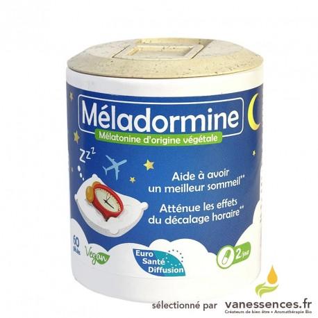 Méladormine - mélatonine naturelle (insomnie, problème de sommeil…)