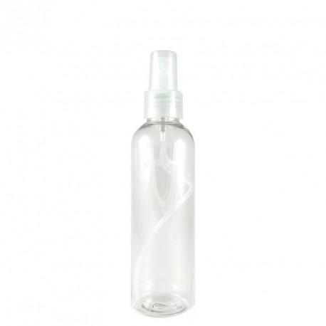 Flacon plastique spray 200ml bouchon pompe vaporisateur TRANSPARENT