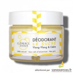 Déodorant naturel crème Le sucré aux huiles essentielles