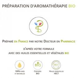 Préparation des muscles à l'effort - Synergie 100% naturelle et bio aux huiles essentielles bio