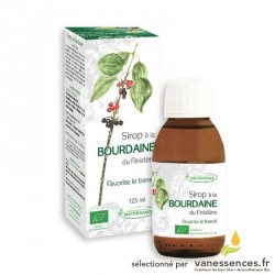 Sirop constipation traitement naturel à la Bourdaine laxatif naturel. 125ml