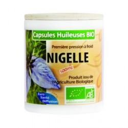 Gelule de Nigelle bio capsules d'huile de cumin noir à boire