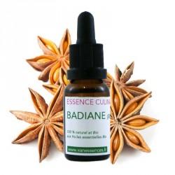 Badiane - Essence culinaire Bio - Concentré d'arôme 100% bio et naturel à l'huile essentielle bio d'Anis étoilé