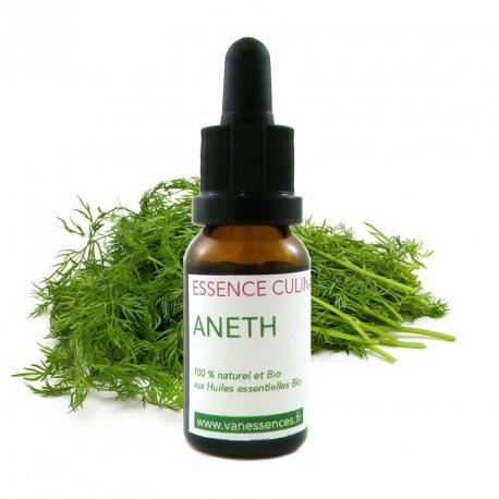 Aneth - Essence culinaire Bio - Huile essentielle pour la cuisine - Concentré d'ârome