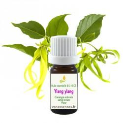 Huile essentielle BIO HECT Ylang ylang - Cananga odorata extra totum