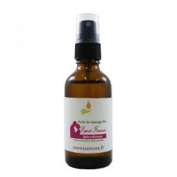 Huile de massage bio Aphrodisiaque - Esprit Féminin 100% naturelle aux huiles essentielles