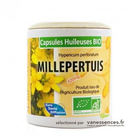 Capsules huileuses de Millepertuis bio