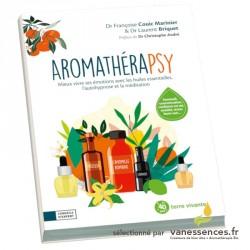 Aromathérapsy, livre pour apprendre à méditer avec les huiles essentielles et la technique d'auto hypnose