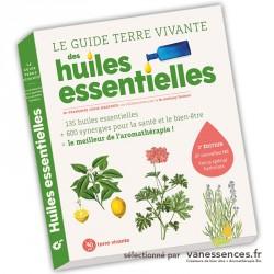 Livre aromathérapie : Le guide terre vivante des Huiles essentielles de Françoise Couic Marinier