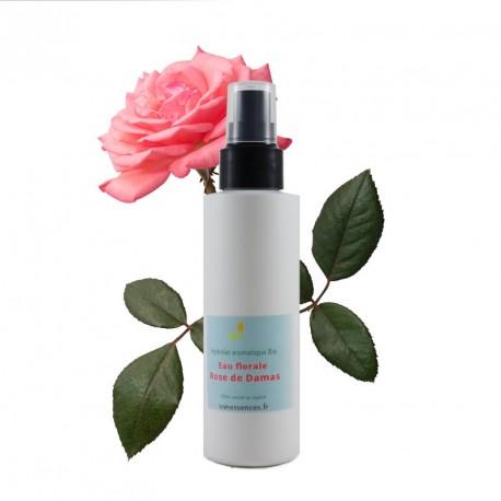 Hydrolat de Rose de Damas Bio - Eau de rose Bio - Eau florale de Rose