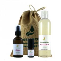 Coffret cadeau Bio Zen Attitude 2 100% origine naturelle aux huiles essentielles Bio