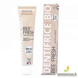 Dentifrice bio Bee Fresh