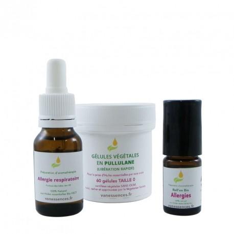 Pack Stop Allergies anti allergique naturel aux huiles essentielles