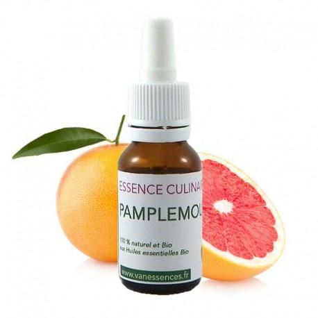 Pamplemousse - Essence culinaire Bio - Huile essentielle de cuisine