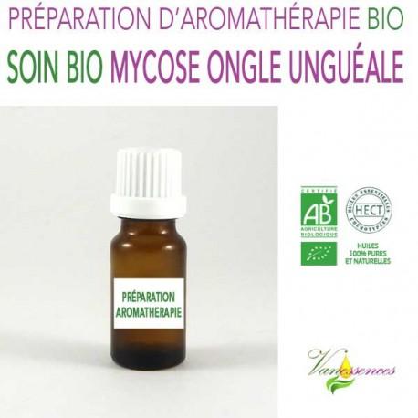 Mycose de l'ongle - unguéale - Huile de soin Bio aux Huiles essentielles Bio