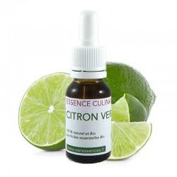 Citron vert - Essence culinaire Bio - Huile essentielle pour la cuisine
