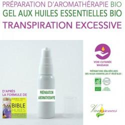 Transpiration excessive - Gel aux huiles essentielles bio