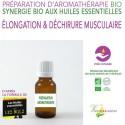 Elongation et déchirure musculaire - Synergie 100% Bio