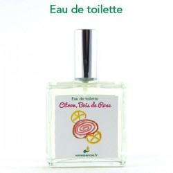 Eau de toilette Citron Bois de Rose