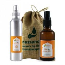 Coffret Arganessa : 2 soins naturels à l'huile d'Argan bio pour pour le visage et le corps.