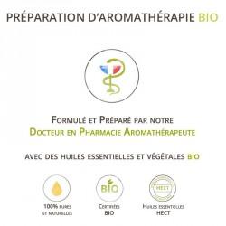 Huile massage épaule 100% bio et naturel