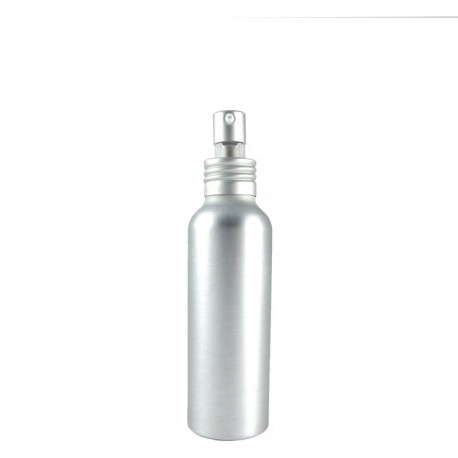 Flacon 100ml alu bouchon pompe spray