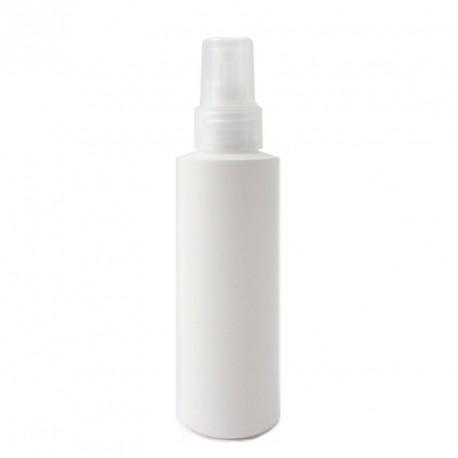 Flacon spray vide plastique blanc 125ml bouchon vaporisateur pulvérisateur