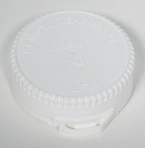 couvercle pot en plastique vide
